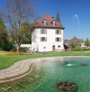 Entenstein Castle (Andlau Schlösschen), Schliengen, Markgräfler Land, Black Forest, Baden-Wurttemberg, Germany