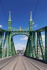 Freiheitsbrücke, Budapest, Ungarn