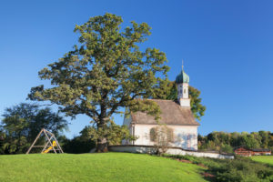 Ramsachkircherl am Murnauer Moos, Murnau am Staffelsee, Staffelsee, Oberbayern, Bayern, Deutschland