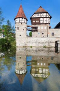 Zollernschlössle Castle, Balingen, Swabian Jura, Baden-Württemberg, Germany
