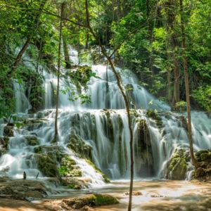 Wasserfall, Nationalpark Krka, UNESCO Weltnaturerbe, Dalmatien, Kroatien