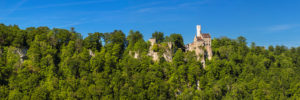 Lichtenstein Castle, Swabian Alb, Baden-Württemberg, Germany