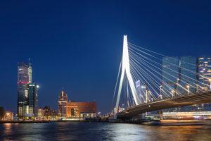 Erasmus Bridge, Rotterdam, South Holland, Netherlands