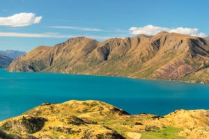 View over Lake Wanaka from Roy's Peak Track, Otago, South Island, New Zealand, Oceania