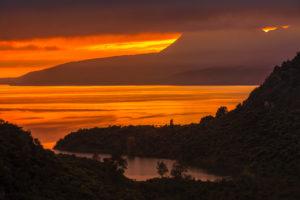 Lake Tarawera, Rotorua, North Island, New Zealand, Oceania