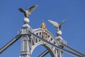 Salzachbrücke und Länderbrücke über die Salzach in Laufen, Rupertiwinkel, Berchtesgadener Land, Oberbayern, Bayern, Süddeutschland, Deutschland, Europa