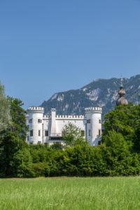 Marzoll Castle near Bad Reichenhall, Berchtesgadener Land, Upper Bavaria, Bavaria, Southern Germany, Germany, Europe