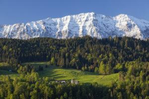 Wettersteingebirge, Garmisch-Partenkirchen, Oberbayern, Bayern, Süddeutschland, Deutschland, Europa