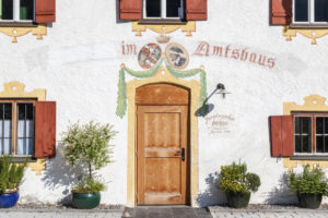 Preysingsches Amtshaus in Hohenaschau, Aschau im Chiemgau, Upper Bavaria, Bavaria, southern Germany, Germany, Europe