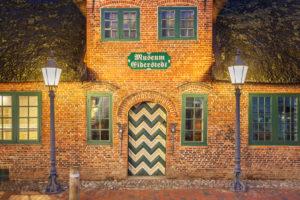 Friesenhaus und Museum Eiderstedt in St. Peter-Ording, Halbinsel Eiderstedt, Nordfriesland, Schleswig-Holstein, Norddeutschland, Deutschland, Europa