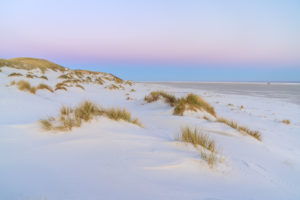 Dunes on the beach on the island of Amrum, Nebel, North Frisian Islands, Schleswig-Holstein, Northern Germany, Germany, Europe