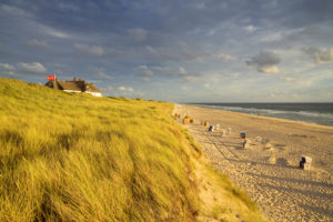 Hotel Soel'ring Hof in the dunes in Rantum, Sylt Island, North Friesland, Schleswig-Holstein, Northern Germany, Germany, Europe