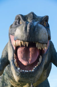 Saurier, Dinosaurier, Tyrannosaurus rex, Styropor, Figur