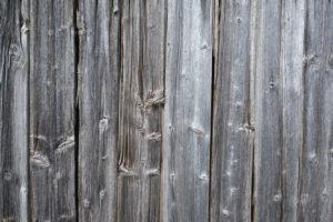 Verwitterte Holzverkleidung, Bretter, Silbergrau