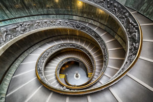Bramante Staircase in Vatican City
