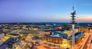 Skyline panorama of Hannover, Germany