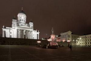 Der Dom von Helsinki, Finnland, nach Plänen des deutschen Architekten Carl Ludwig Engel