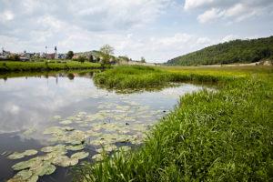 Bayern, Schwaben, Fluß, Wörnitz, Hoppingen