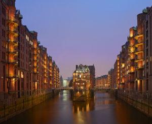 Germany, Hamburg, 'Speicherstadt'
