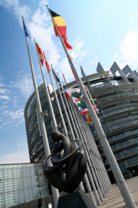 France, Strasbourg, European Parliament