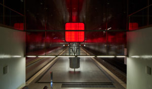 Germany, Hamburg, underground Line 4, station HafenCity