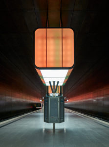 Germany, Hamburg, Subway Line 4, station HafenCity