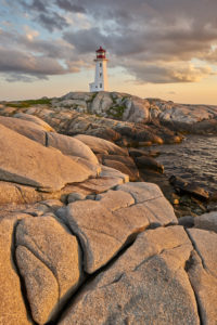 Canada, Nova Scotia, Peggys Cove, lighthouse Peggys Point
