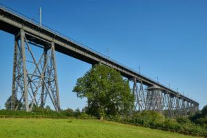 Germany, Schleswig- Holstein, Rendsburg, town, Rendsburg High Bridge