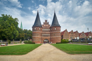 Germany, Schleswig-Holstein, Hanseatic Town of Lübeck, Holsten Gate