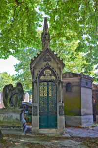 Pere Lachaise cemetery, Paris, France