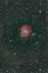 NGC 2174, the monkey head nebula, deepsky shot with telescope