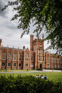 Lanyon building at Queen's University, Belfast, Northern Ireland