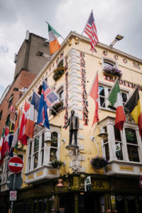 Oliver St. John Gogartys hostel and restaurant in Temple Bar, Dublin, Ireland