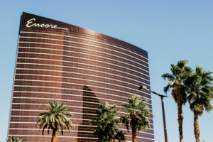 USA, Nevada, Las Vegas, Fassade des Encore at Wynn Hotels