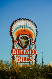 "USA, Nevada, ""Buffalo Bills"" Schild"