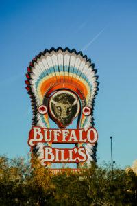 """USA, Nevada, """"Buffalo Bills"""" sign"""