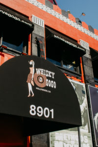 "USA, California, Los Angeles, bar ""Whiskey a gogo"""