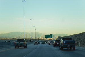 USA, Nevada, Las Vegas, Highway