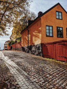 Stockholm, Sweden, walk through Södermalm, Blecktornsgränd
