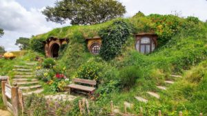 New Zealand, Hobbiton Movie Set