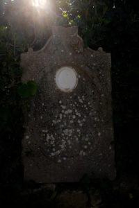 Gravestone, Europe, Croatia, Brac