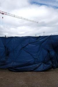 Europe, Denmark, Copenhagen, construction site