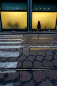 Shop windows in Milan, Europe, Italy