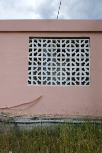 Europe, Greece, Corfu, facade, window, pattern