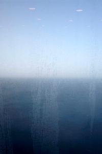 Europe, Canary Islands, La Gomera, view through a window to the sea