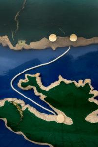 Europe, Mediterranean, Adriatic, Croatia, Hvar, Stari Grad, Map, representation, ferry connection