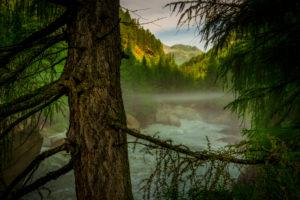 Österreich, Tirol, Zwieselstein, Obergurgl, Gurgler Ache,  Ötztaler Alpen, Öztal, wandern
