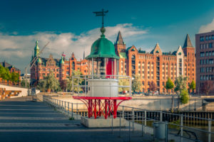Deutschland, Hamburg, Elbe, Hafen, Hafencity, Leuchtfeuer, Leuchtturm
