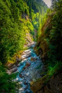 Italy, South Tyrol, Alps, hiking, Passer, Passer Gorge, gorge