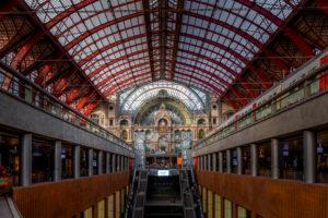Europa, Belgien, Antwerpen, Stadt, Innenstadt, Bahnhof, Antwerpen-Centraal, Centraal